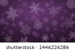 christmas background with... | Shutterstock .eps vector #1446226286