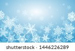christmas background with...   Shutterstock .eps vector #1446226289