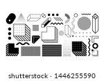 universal trend halftone... | Shutterstock .eps vector #1446255590