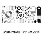 universal trend halftone... | Shutterstock .eps vector #1446259046