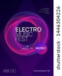 neon flyer. dynamic gradient...   Shutterstock .eps vector #1446304226