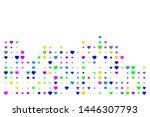heart in halftone style...   Shutterstock .eps vector #1446307793