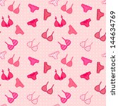 woman linen raster seamless... | Shutterstock . vector #144634769