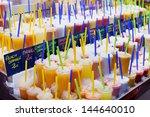 Colourful Fresh Fruit Drinks...