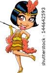 cartoon illustration of a... | Shutterstock .eps vector #144642593