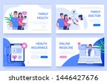 family health concept. can use... | Shutterstock .eps vector #1446427676