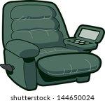 reclining chair illustration