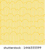 vector seamless pattern with... | Shutterstock .eps vector #1446555599