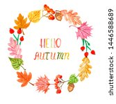 Watercolor Autumn Decorative...