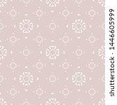subtle minimalist seamless... | Shutterstock .eps vector #1446605999