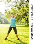 female fitness instructor