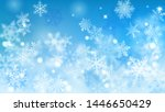 christmas blurred background of ... | Shutterstock .eps vector #1446650429