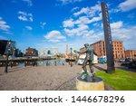 liverpool  uk   may 17 2018 ... | Shutterstock . vector #1446678296