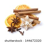 Gingerbread Cookie And Spices...
