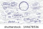 design elements label ... | Shutterstock .eps vector #144678536