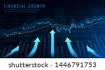 concept art of financial growth ... | Shutterstock .eps vector #1446791753