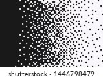 the pixels are scattered ... | Shutterstock .eps vector #1446798479
