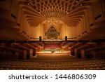 Small photo of SYDNEY, AUSTRALIA - JUNE 28th, 2019; The Sydney opera inside the concert hall. The Concert hall has a capacity of over 2000 people.