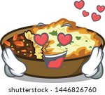 in love gratin in the a mascot... | Shutterstock .eps vector #1446826760