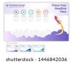 website template vector set for ...