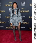 "Small photo of LOS ANGELES, USA. July 10, 2019: Kelly Rowland at the world premiere of Disney's ""The Lion King"" at the Dolby Theatre. Picture: Paul Smith/Featureflash"