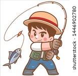 vector illustration of cartoon... | Shutterstock .eps vector #1446902780
