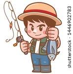 vector illustration of cartoon... | Shutterstock .eps vector #1446902783