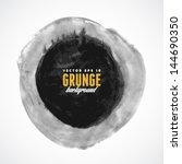brush stroke circle texture for ... | Shutterstock .eps vector #144690350