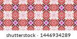 graceful endless background.... | Shutterstock . vector #1446934289