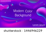 colorful abstract design with... | Shutterstock .eps vector #1446946229