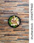 tuna fume of rice cook radish... | Shutterstock . vector #1446979460