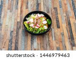 tuna fume of rice cook radish... | Shutterstock . vector #1446979463