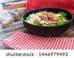 tuna fume of rice cook radish... | Shutterstock . vector #1446979493