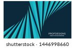 triangle stripe twisted modern... | Shutterstock .eps vector #1446998660