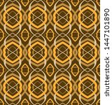 abstract seamless pattern with  ...   Shutterstock .eps vector #1447101890