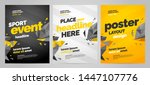 template design with dynamic... | Shutterstock .eps vector #1447107776