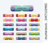 multicolored website buttons...