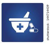 dispensary  pharmacy | Shutterstock .eps vector #144714439