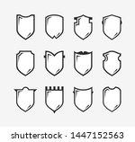 flat clip art design elements.... | Shutterstock .eps vector #1447152563