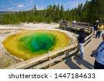 Yellowstone  Usa   August 19 ...