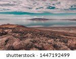 Views Of Great Salt Lake At...