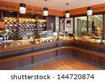 modern bakery interior with... | Shutterstock . vector #144720874