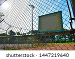 local old minor league baseball ... | Shutterstock . vector #1447219640