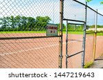 local old minor league baseball ... | Shutterstock . vector #1447219643