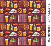 Beer Fest Pattern With Craft...