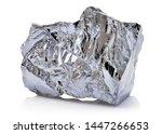 macro shoot of piece of nickel...   Shutterstock . vector #1447266653