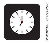 clock icon design vector...
