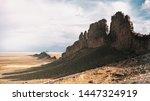 Shiprock In The Desert  New...
