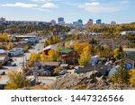 Beautiful City View in Yellowknife, Northwest Territories, Canada