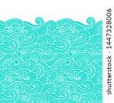 seamless abstract pattern.... | Shutterstock .eps vector #1447328006